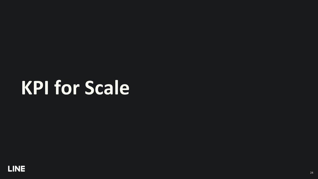 KPI for Scale 24