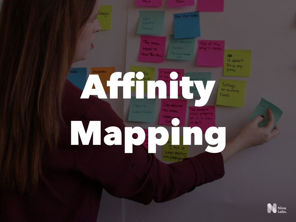 !31 Affinity Mapping