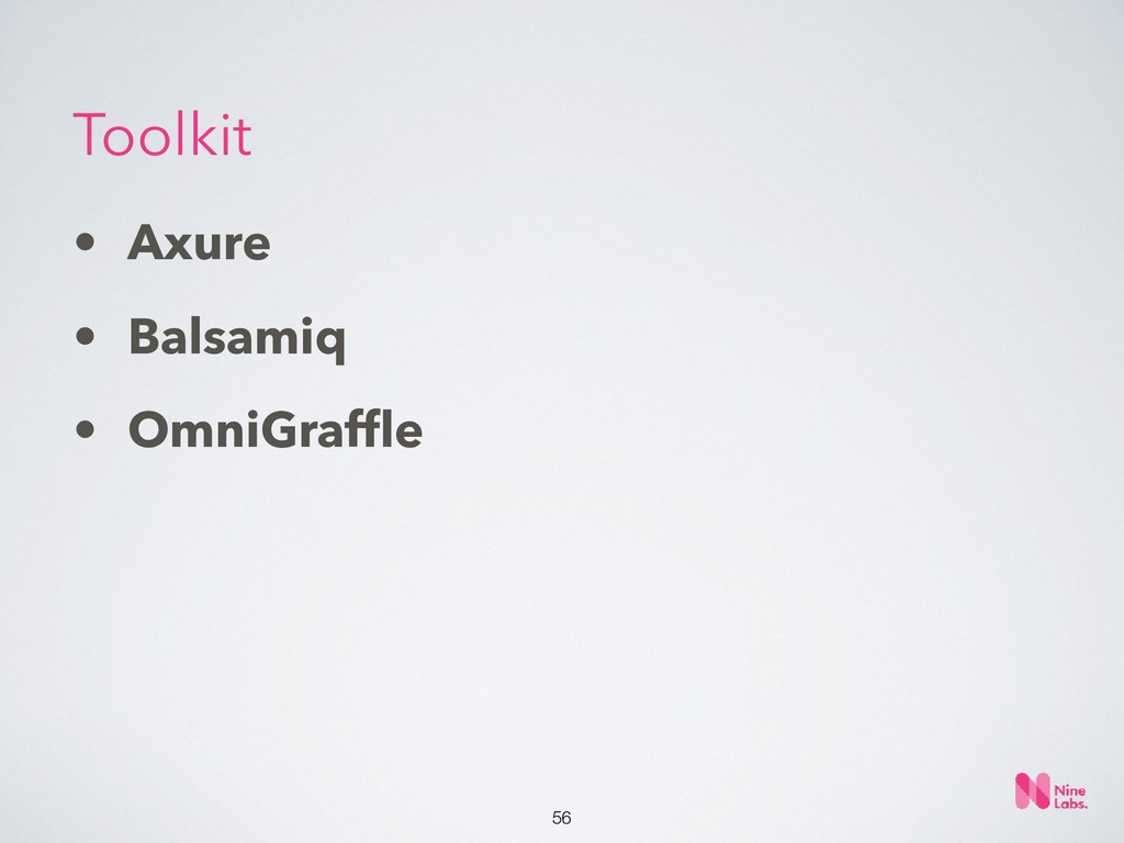 !56 • Axure • Balsamiq • OmniGraffle Toolkit