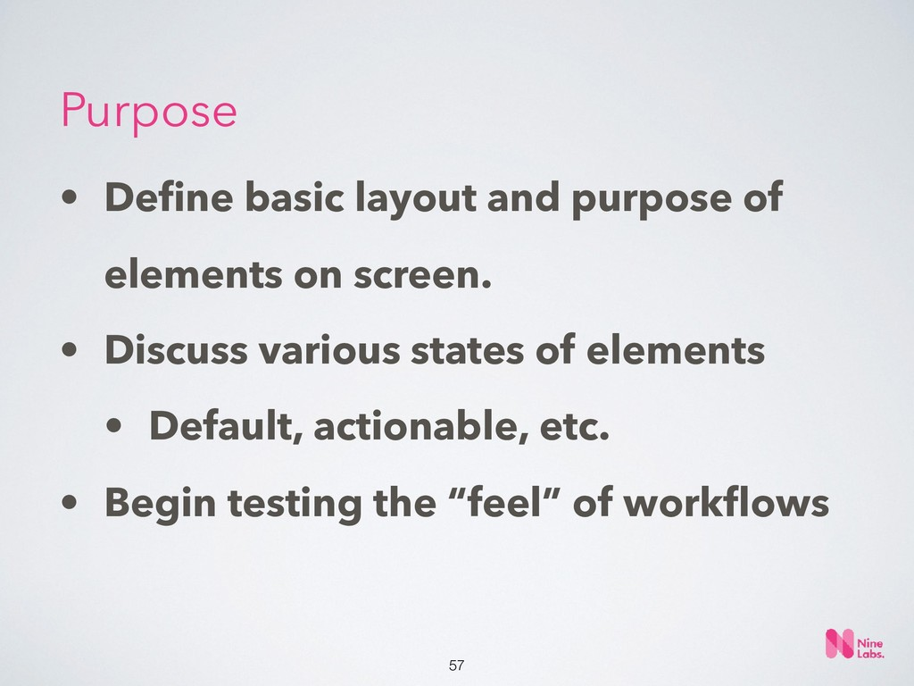 !57 • Define basic layout and purpose of element...