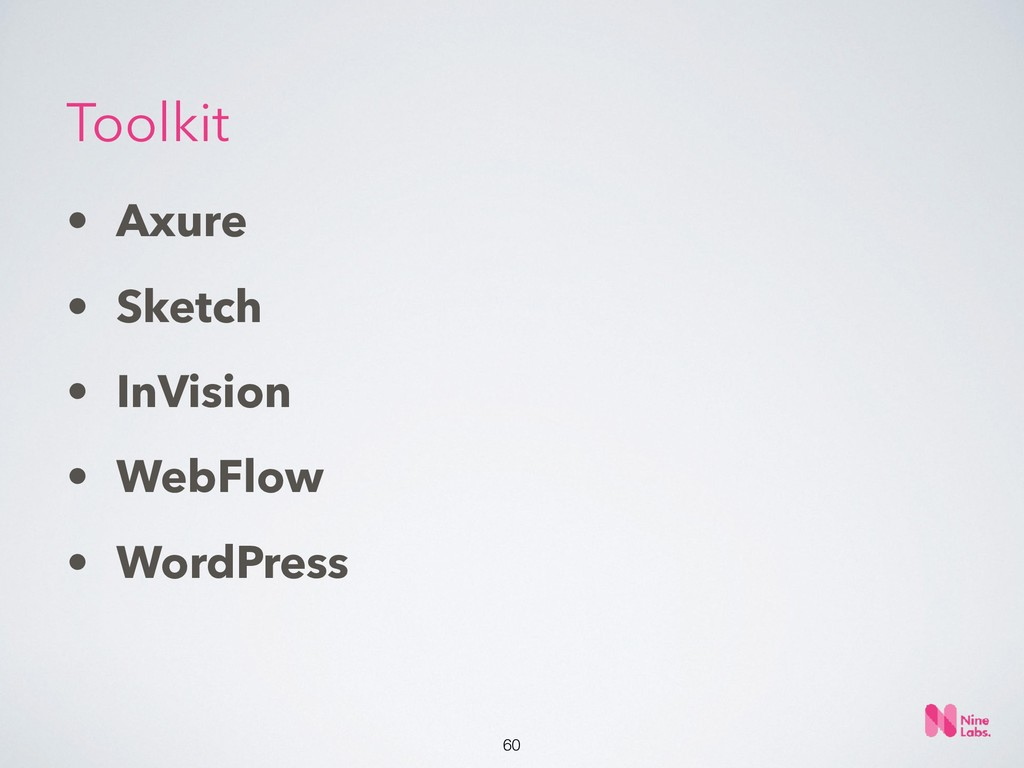 !60 • Axure • Sketch • InVision • WebFlow • Wor...