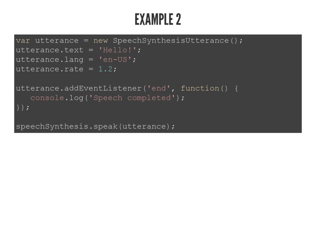 EXAMPLE 2 YDUXWWHUDQFH QHZ6SHHFK6\QWKHVLV8W...