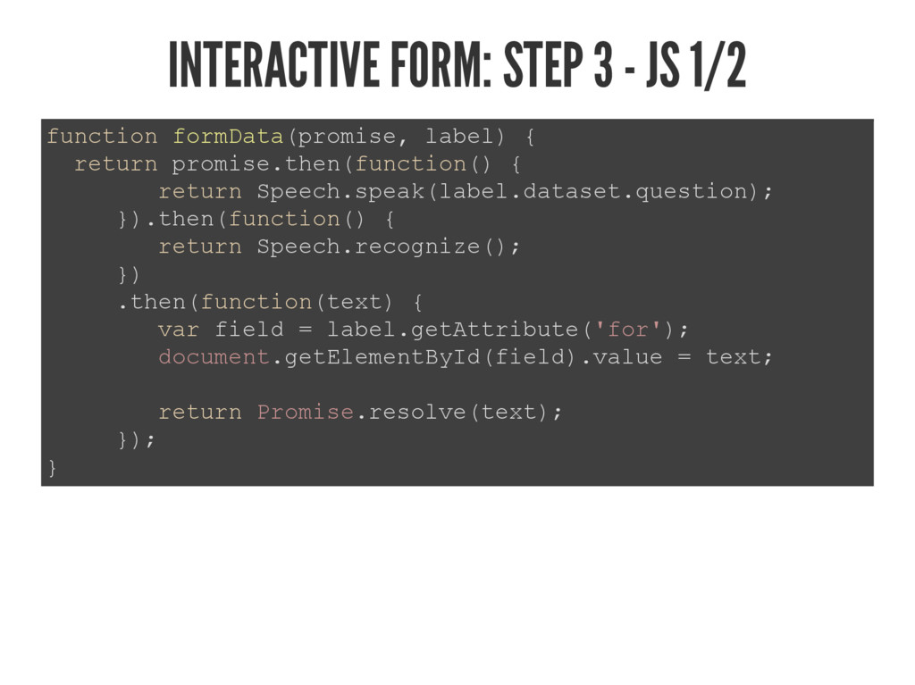 INTERACTIVE FORM: STEP 3 - JS 1/2 IXQFWLRQIRUP...