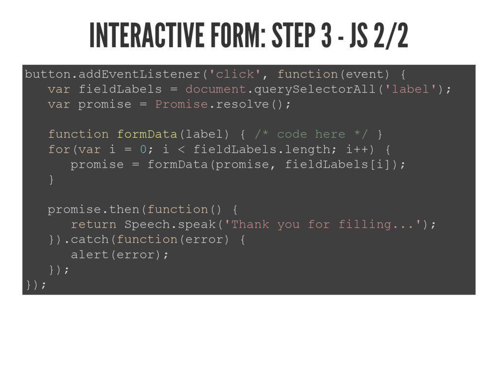 INTERACTIVE FORM: STEP 3 - JS 2/2 EXWWRQDGG(YH...