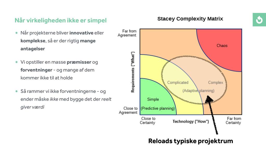 • Når projekterne bliver innovative eller kompl...