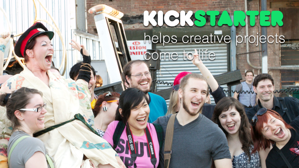 helps creative projects come to life
