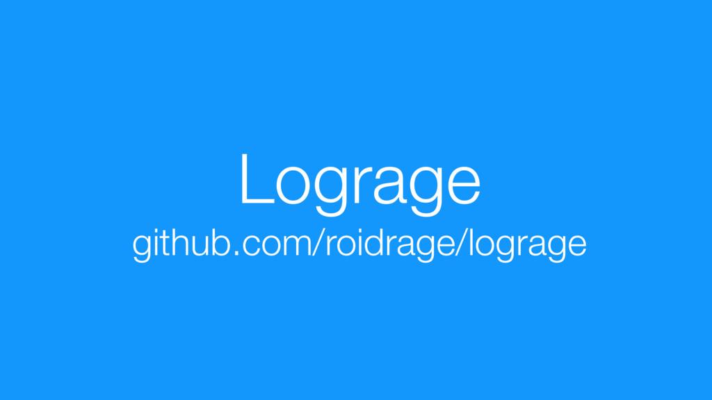 Lograge github.com/roidrage/lograge