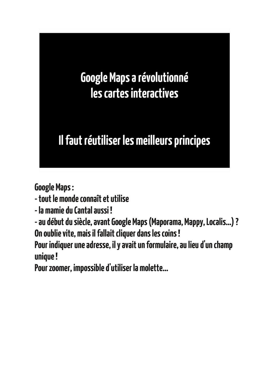 Google Maps a révolutionné les cartes interacti...