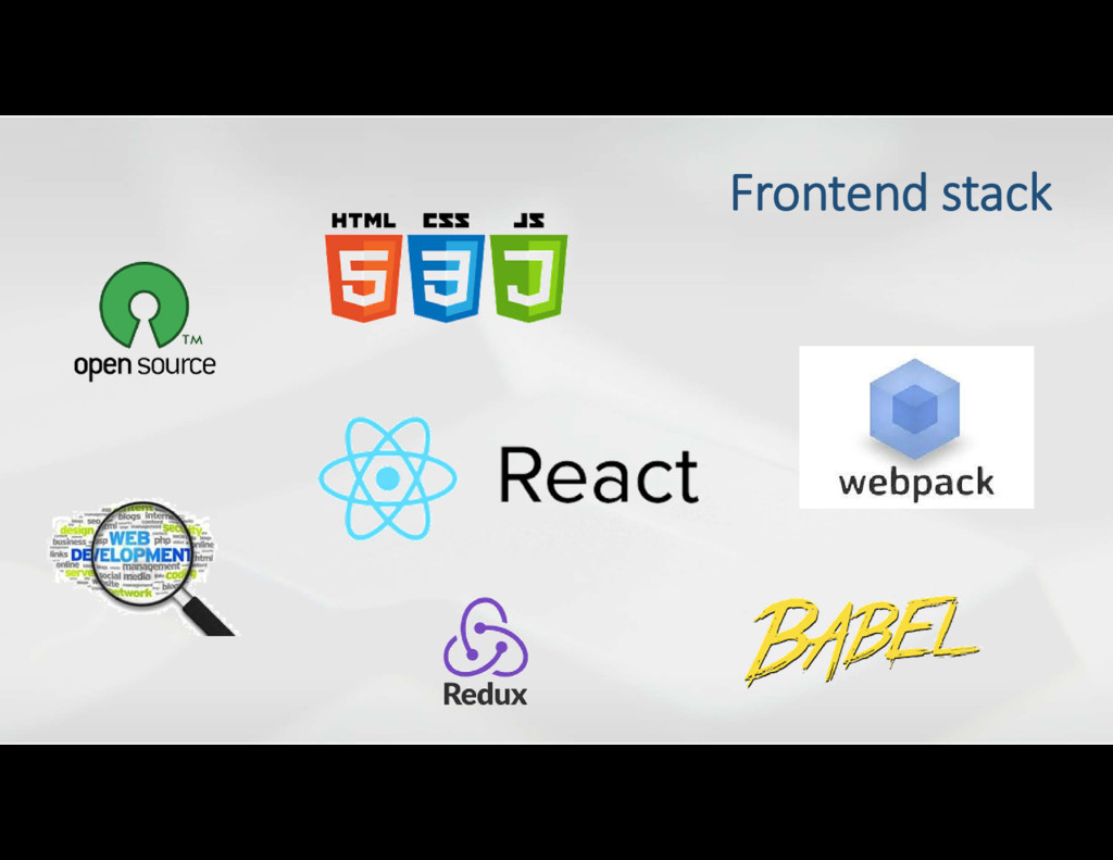 Frontend stack