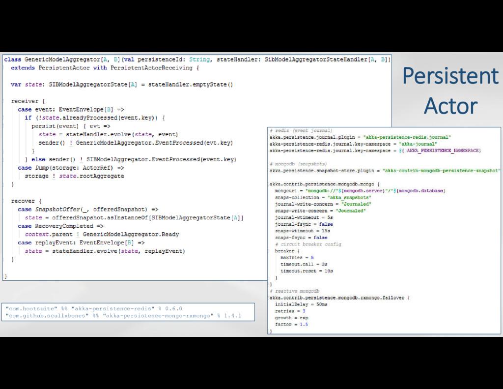 """com.hootsuite"" %% ""akka-persistence-redis"" % 0..."
