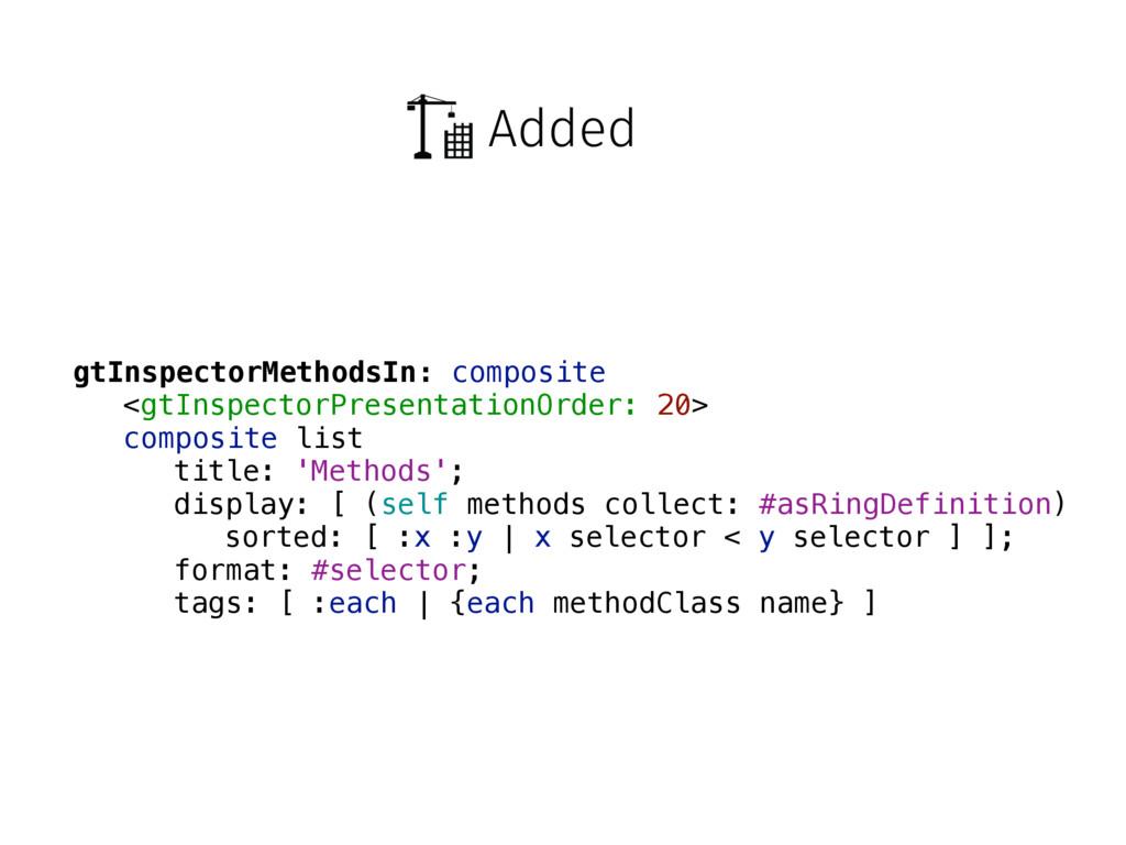 Added gtInspectorMethodsIn: composite <gtInspec...