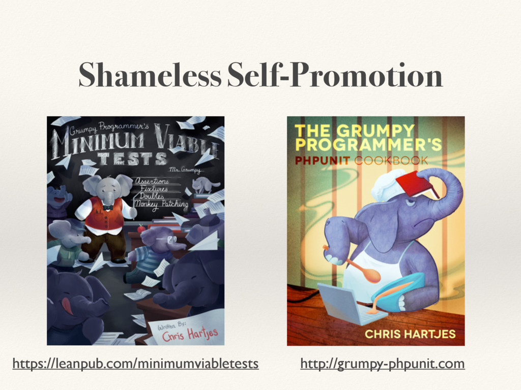 Shameless Self-Promotion https://leanpub.com/mi...