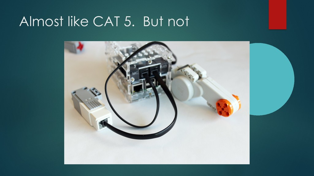 Almost like CAT 5. But not