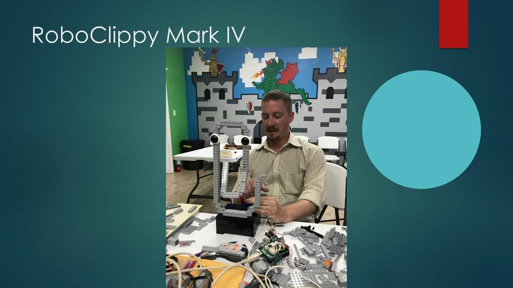 RoboClippy Mark IV