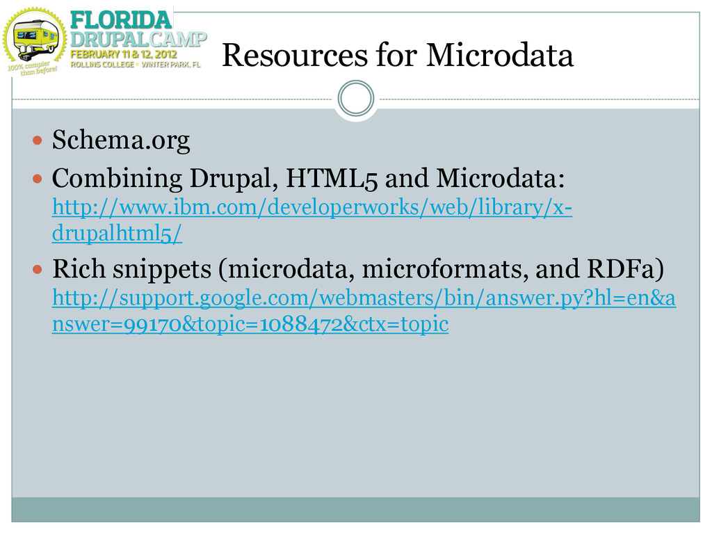 Resources for Microdata  Schema.org  Combinin...