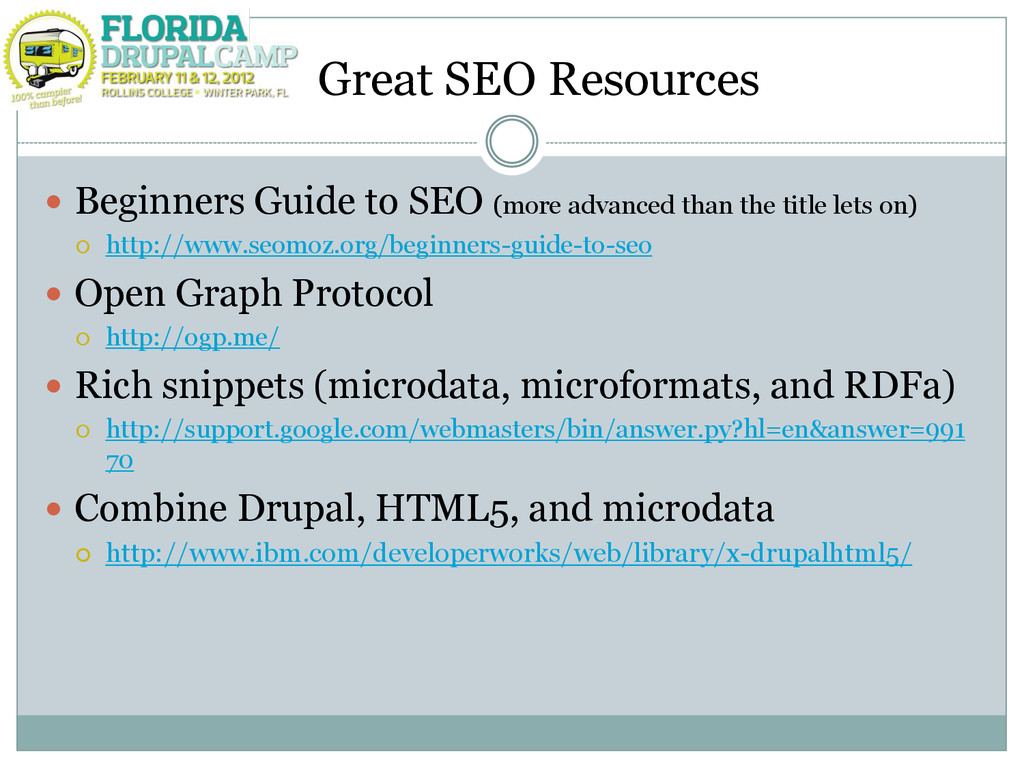 Great SEO Resources  Beginners Guide to SEO (m...