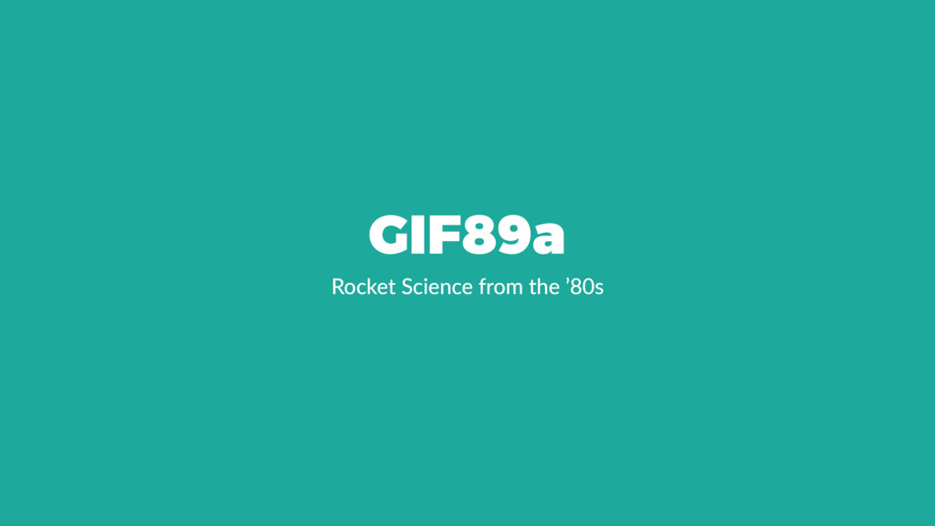 GIF89a Rocket Science from the '80s