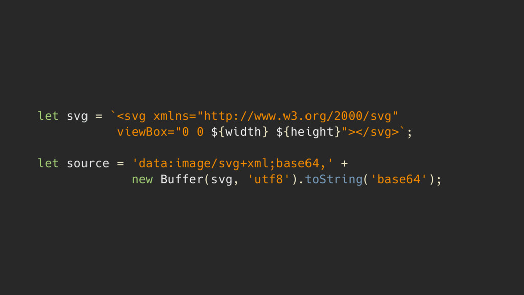 "let svg = `<svg xmlns=""http://www.w3.org/2000/s..."