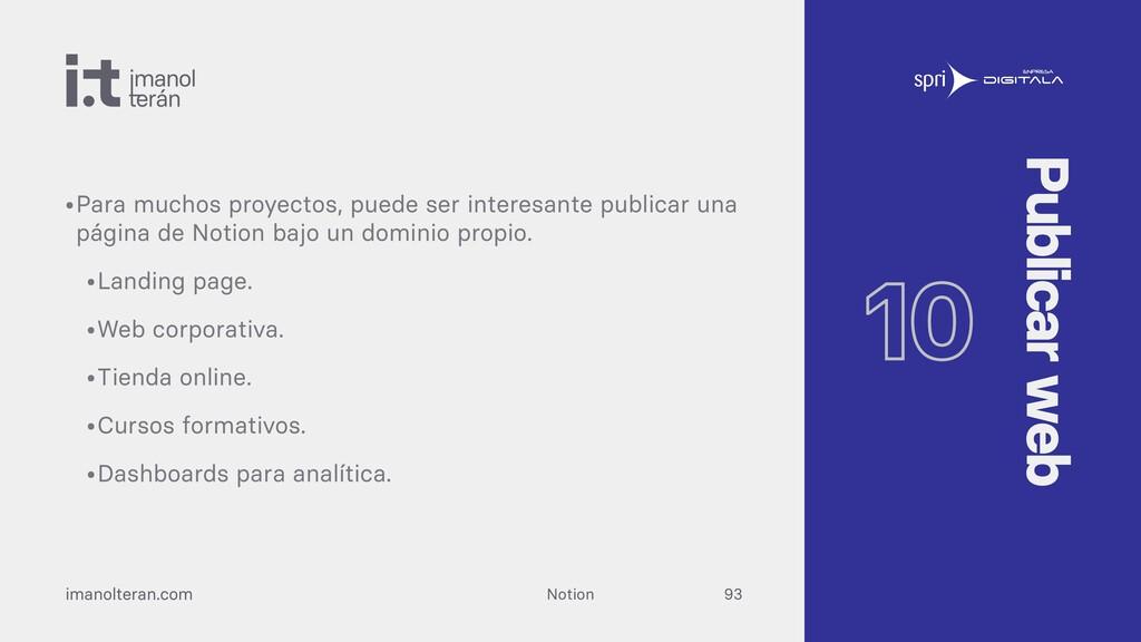 imanolteran.com 10 Publicar web Desde Notion No...