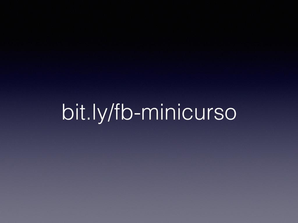 bit.ly/fb-minicurso