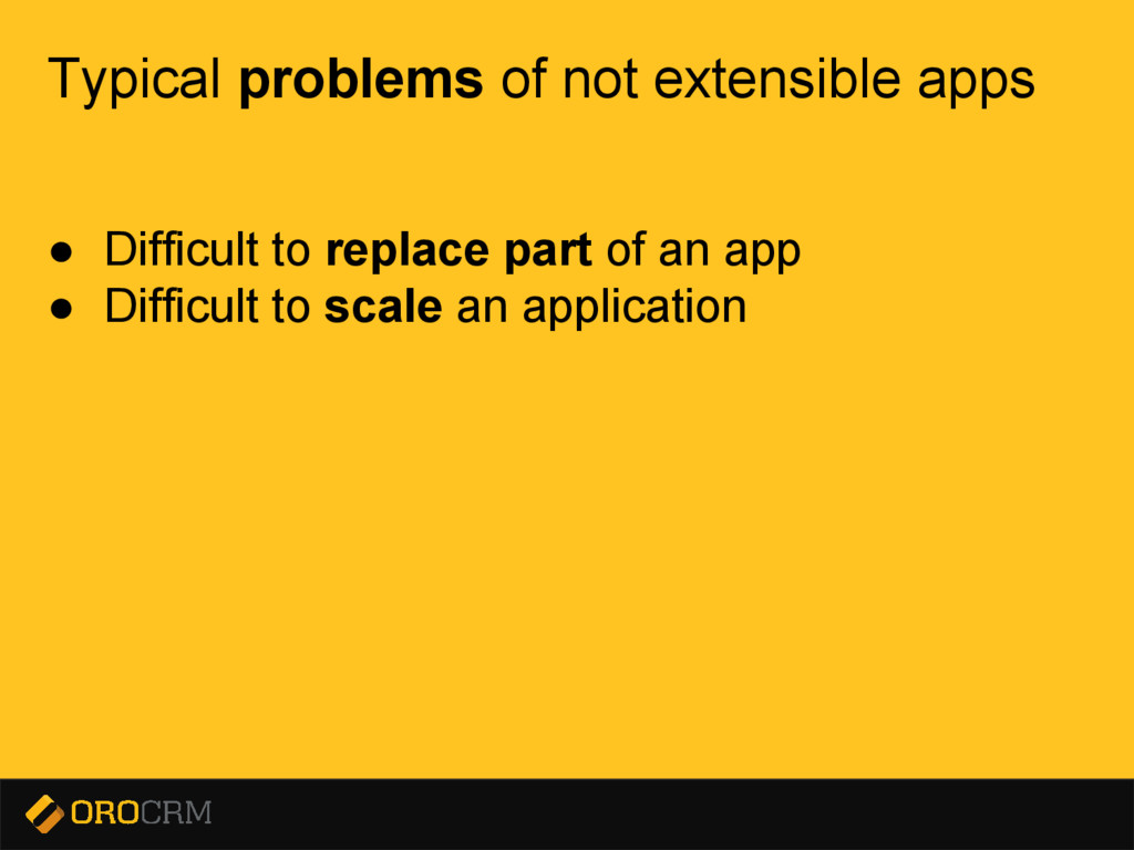 Presentation title here Typical problems of not...
