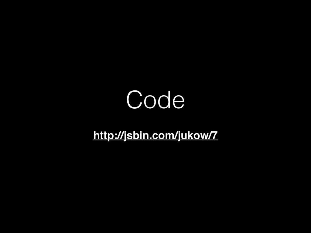 Code http://jsbin.com/jukow/7