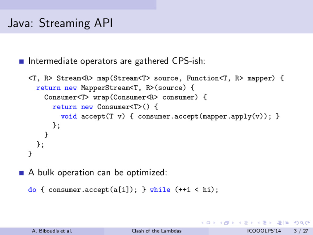 Java: Streaming API Intermediate operators are ...
