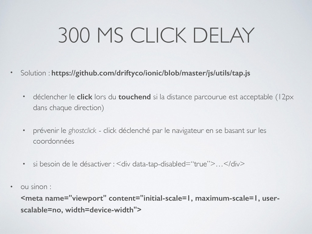 300 MS CLICK DELAY • Solution : https://github....