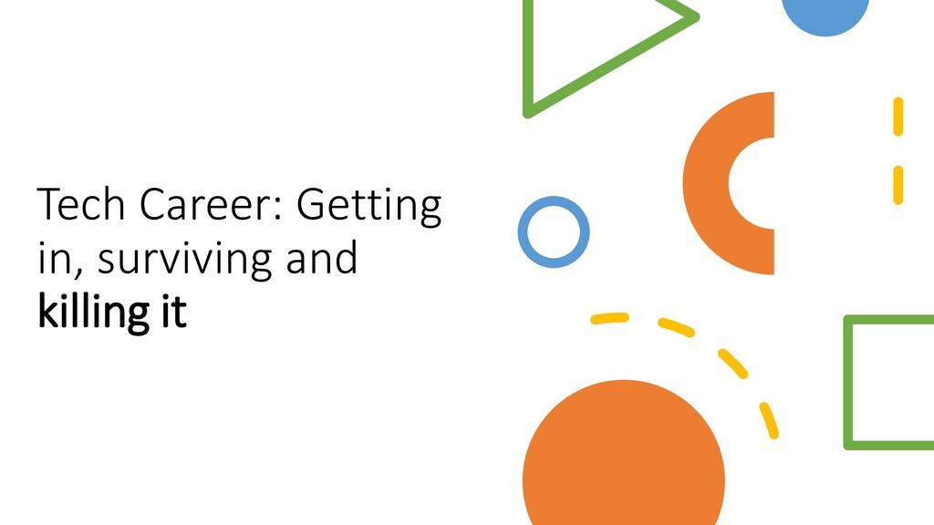 Interswitch - INTERNAL Tech Career: Getting in,...
