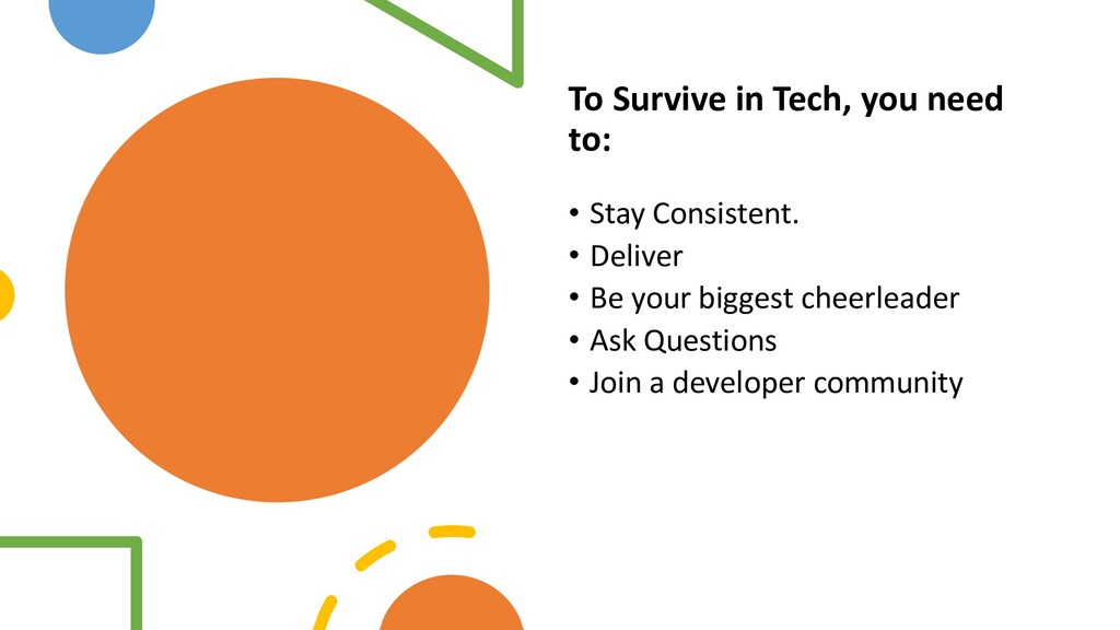 Interswitch - INTERNAL To Survive in Tech, you ...