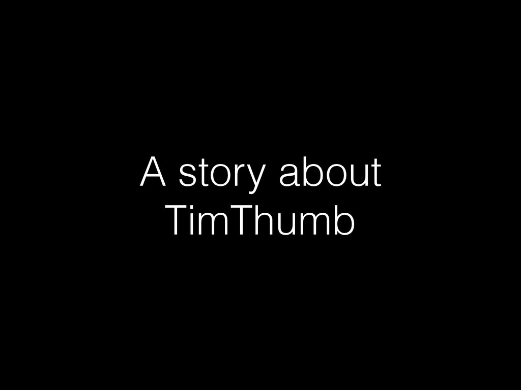 A story about TimThumb