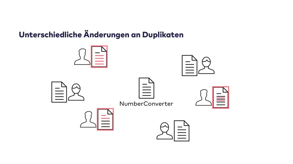 Unterschiedliche Änderungen an Duplikaten Numbe...