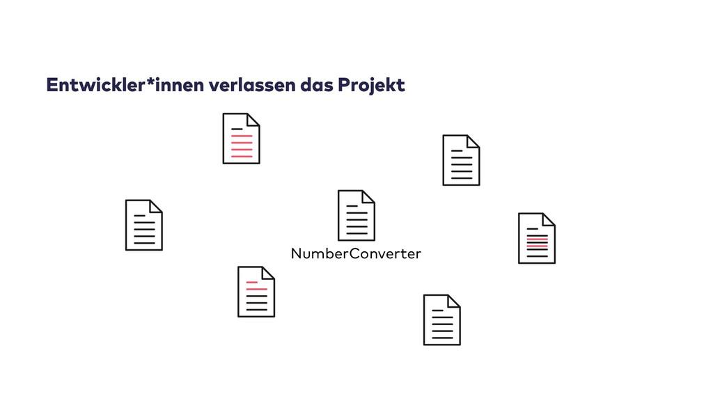 Entwickler*innen verlassen das Projekt NumberCo...