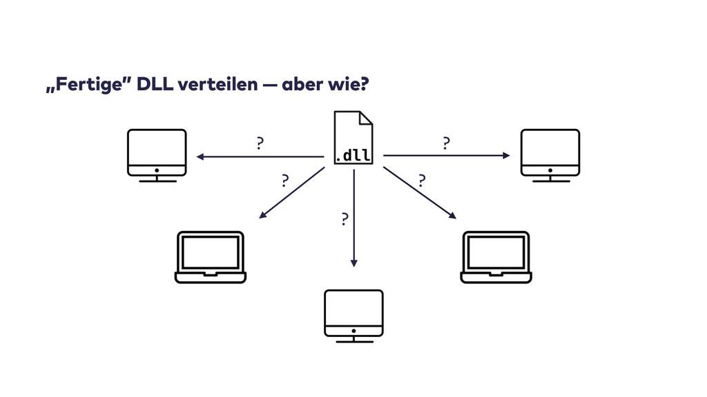 """""""Fertige"""" DLL verteilen — aber wie? ? ? ? ? ?"""