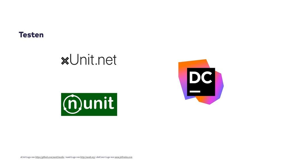 Testen xUnit Logo von https://github.com/xunit/...
