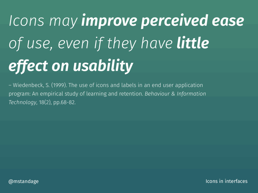 Icons may improve perceived ease of use, even i...