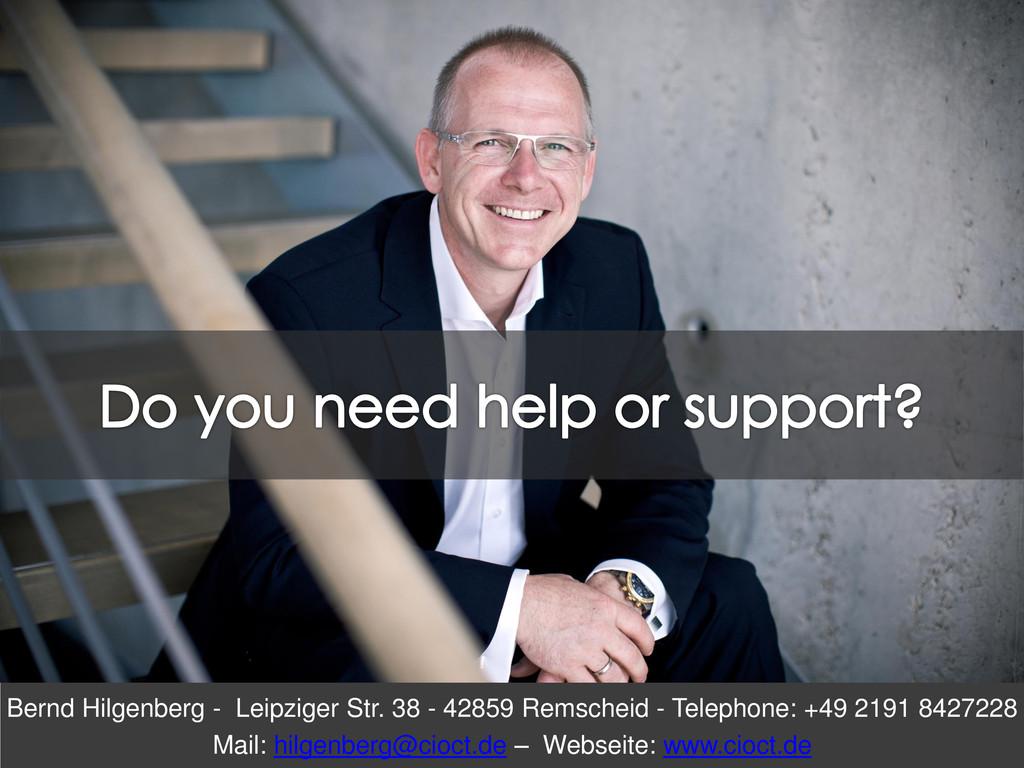 Bernd Hilgenberg - Leipziger Str. 38 - 42859 Re...