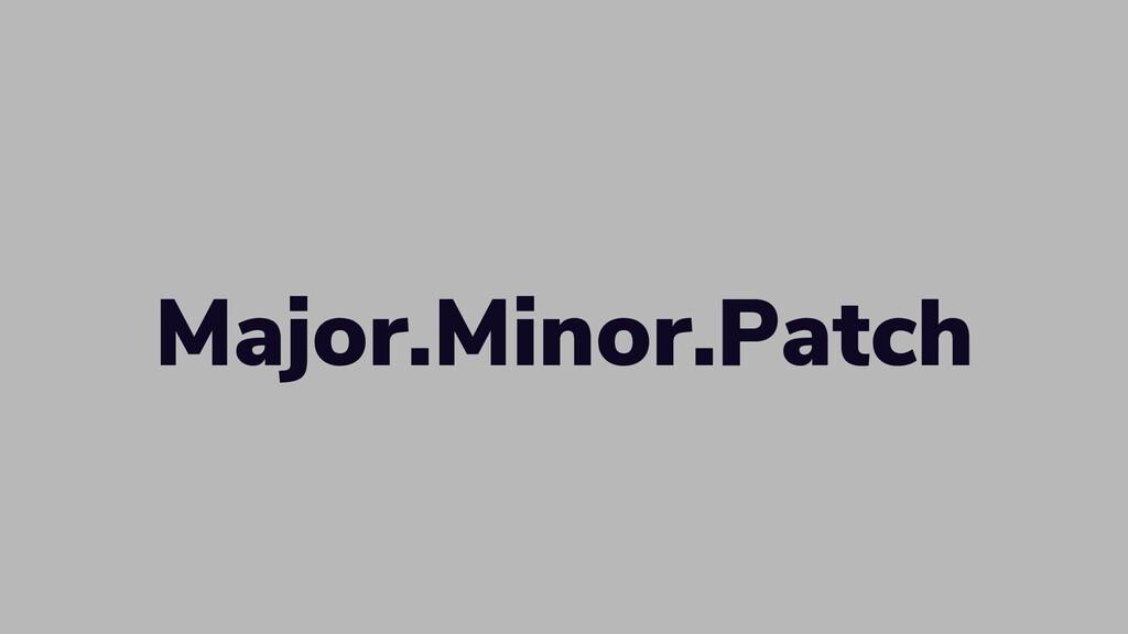 W: rbrt.wllr.info | T: @RobDWaller Major.Minor....