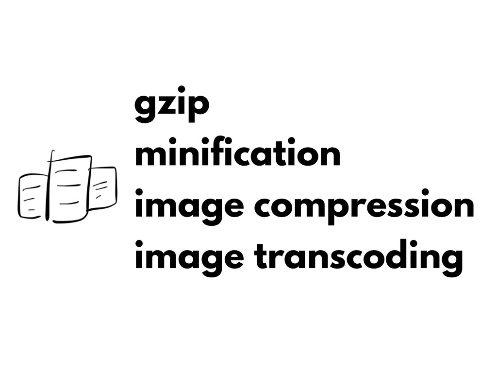 gzip minification image compression image trans...