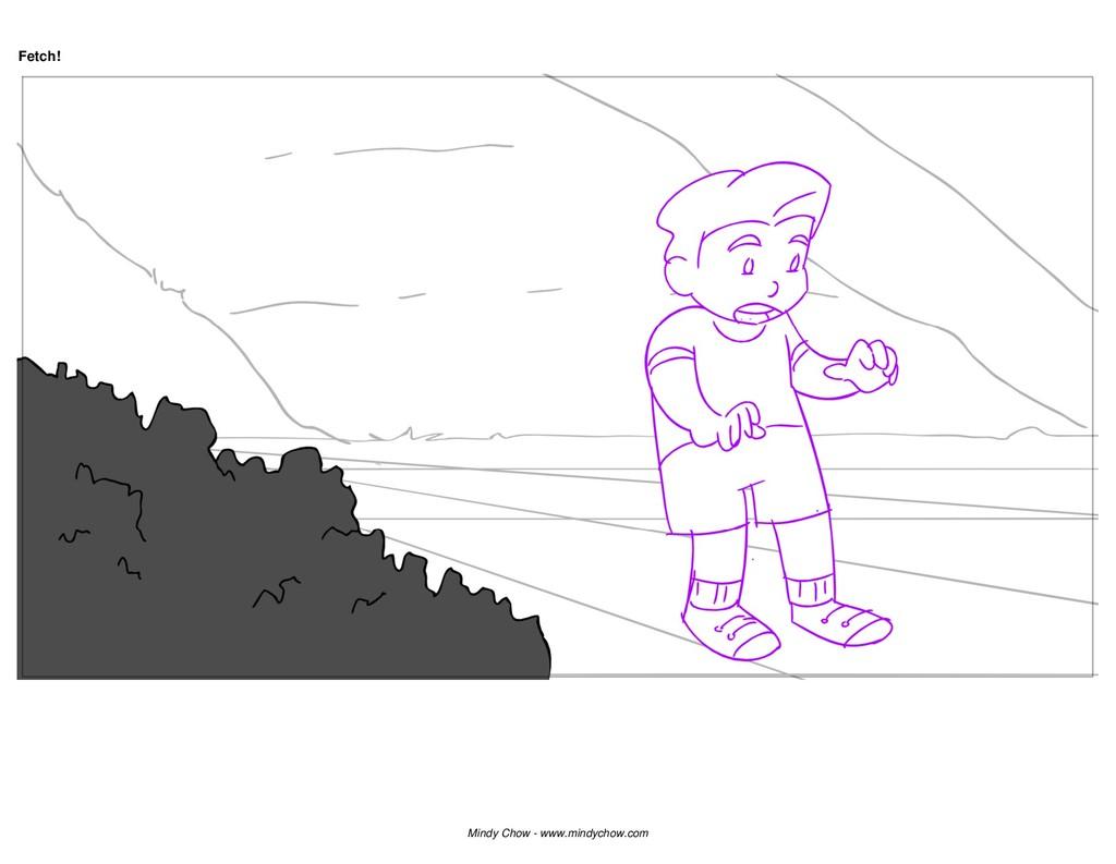 Fetch! Mindy Chow - www.mindychow.com