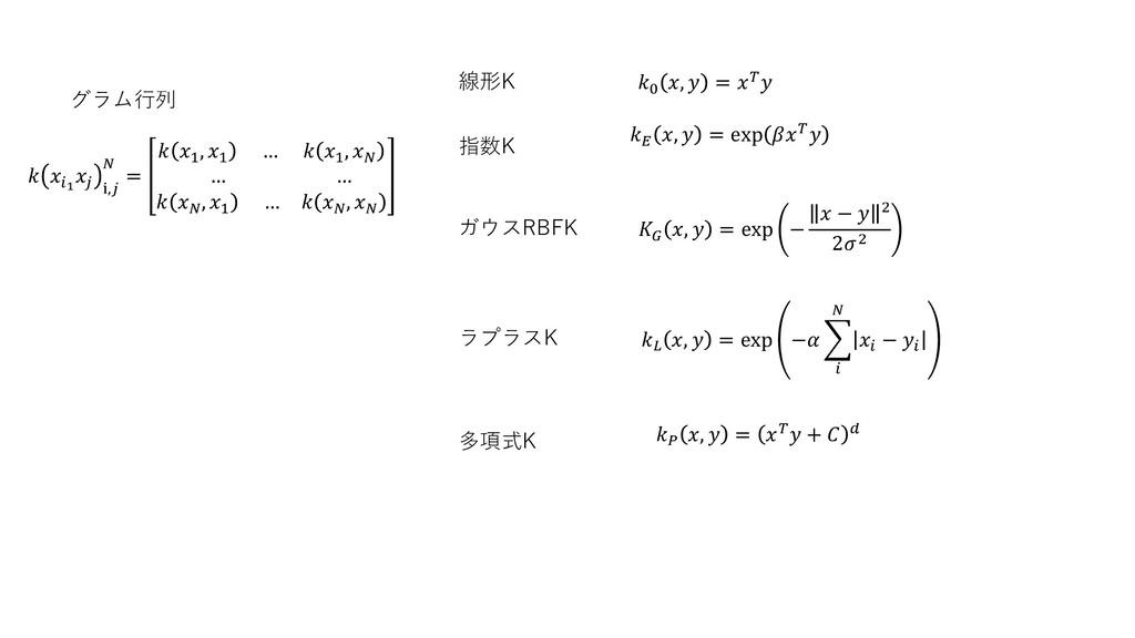 線形K  1  ⅈ,  =  1 , 1 …  1 ,  … …   , 1 …   ,  0...