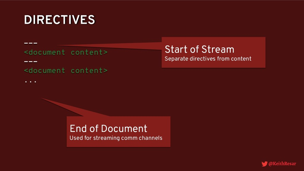 @KeithResar DIRECTIVES --- <document content> -...