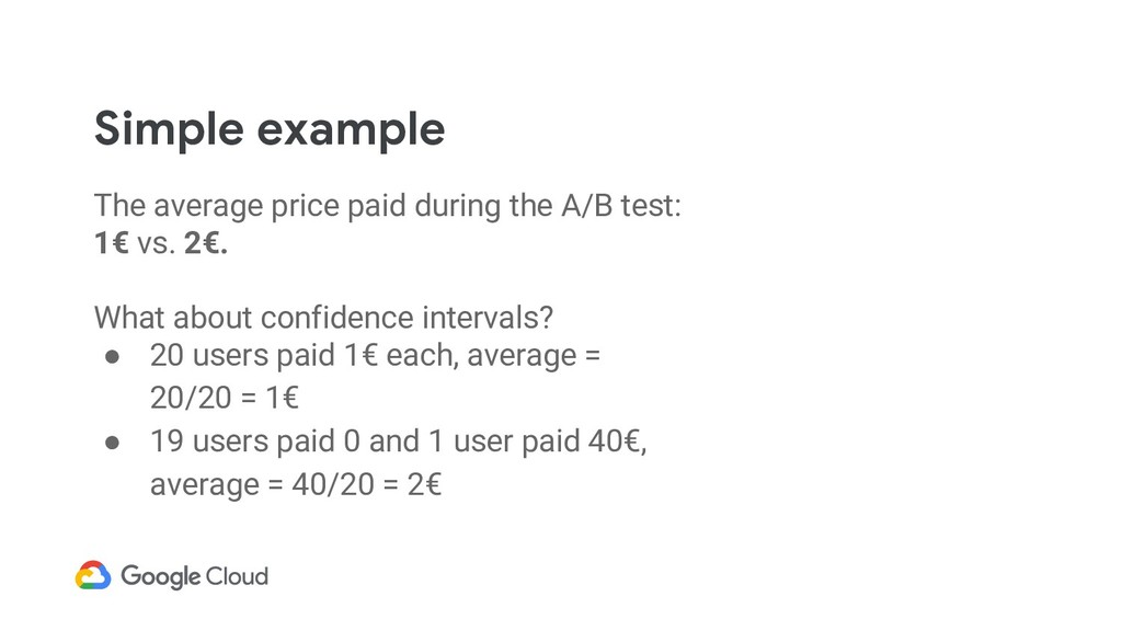 Simple example The average price paid during th...