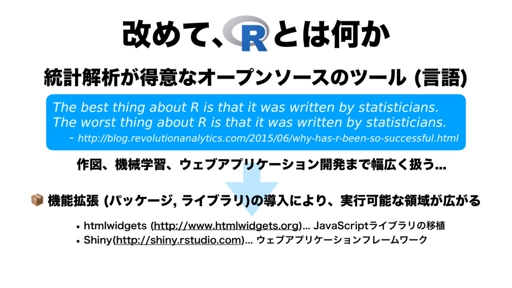 վΊͯɺͱԿ͔ The best thing about R is that it w...