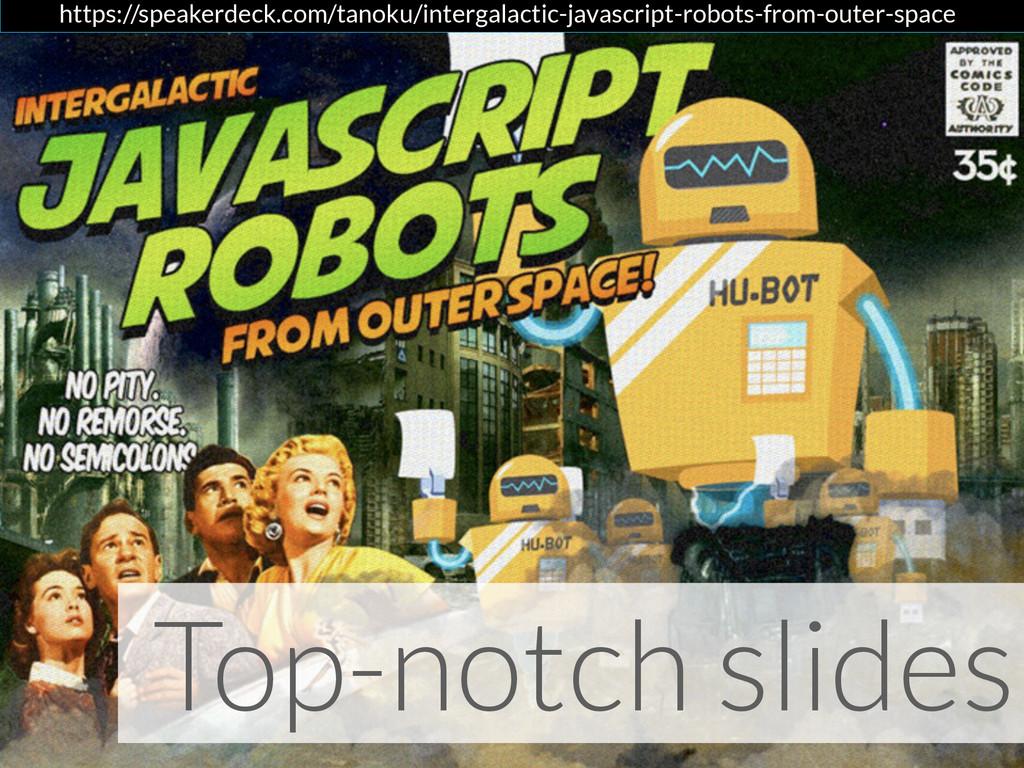 Top-notch slides https://speakerdeck.com/tanoku...