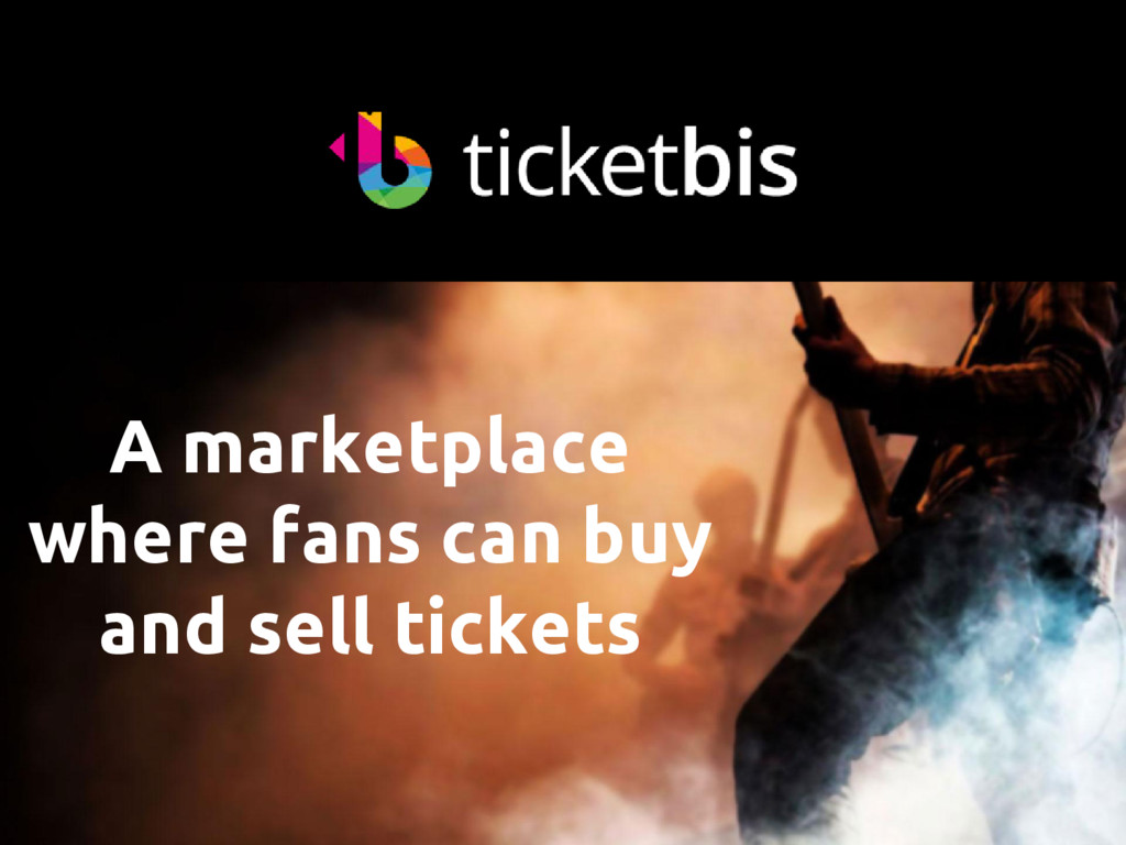 A marketplace where fans can buy and sell ticke...