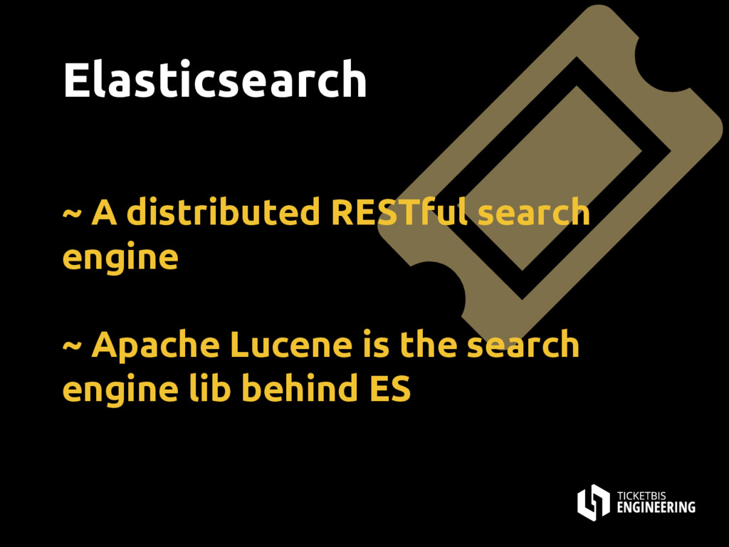 ~ A distributed RESTful search engine ~ Apache ...