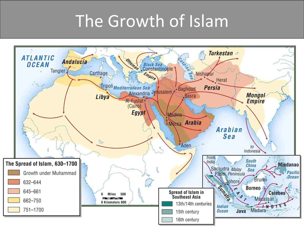 The Growth of Islam