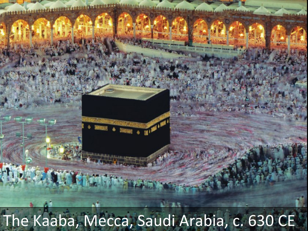 The Kaaba, Mecca, Saudi Arabia, ...