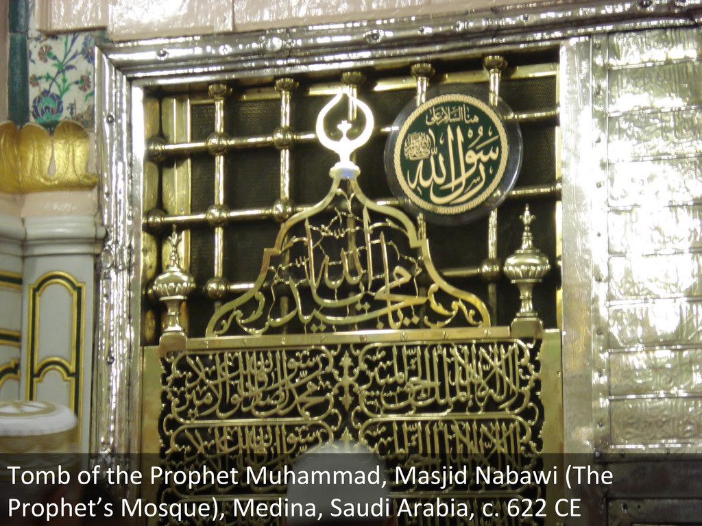 Tomb of the Prophet Muhammad, Ma...